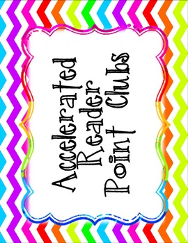 Accelerated Reader (AR) Point Club Printable