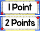 Accelerated Reader (AR) Point System Clip Chart -Superhero Theme