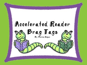 Accelerated Reader Brag Tags