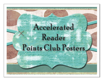 Accelerated Reader Bulletin Board Signs