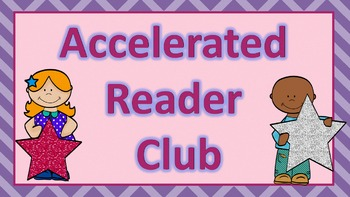 Accelerated Reader Club Clip Chart and Bookmarks