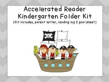 Accelerated Reader Folder Kit for Kindergarten