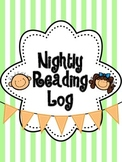 Nightly Reading Log