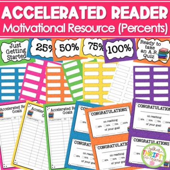 Accelerated Reader Leader AR Point Goal Tracker Tag & Clip