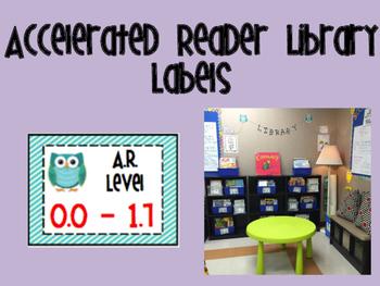 Accelerated Reader Library Basket Labels