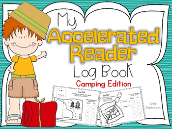 Accelerated Reader Log Book - Camping Edition