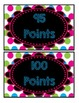 Accelerated Reader Mini Clip-Chart - Points Tracker - {Neo