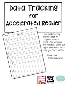 Accelerated Reader Progress Graph