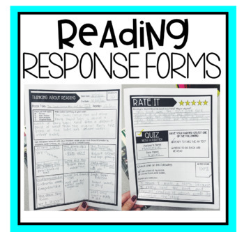 Accelerated Reader Responding to Reading Form