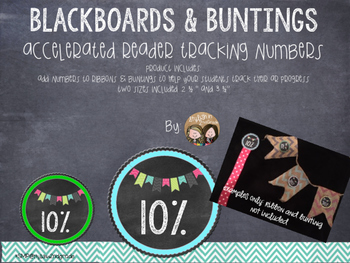 Blackboards & Buntings Accelerated Reader Tracking Percents