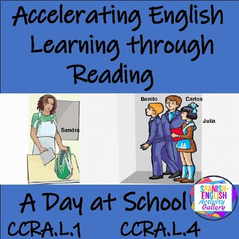 Accelerating English Learning through Reading