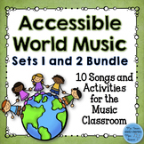 Accessible World Music Set 1 and 2 Combination