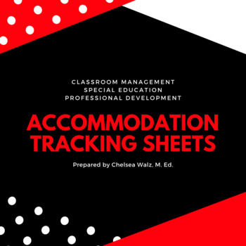 Accommodation Tracking Sheet