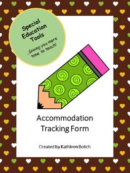 Accommodation Tracking Tool
