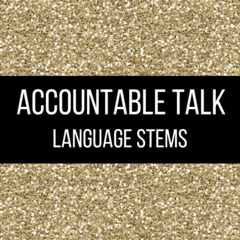 Accountable Talk Language Stems