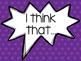 Accountable Talk Poster Pack - Polka Dots