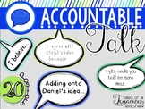 Accountable Talk Posters