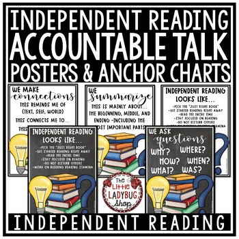 Accountable Talk Posters & Accountable Talk Stems