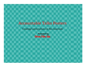 Accountable Talks-Posters