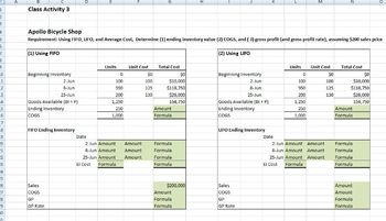Accounting Principles Class (Inventory Accounting Concepts)