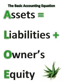Accounting- The Basic Accounting Equation