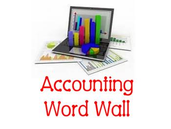 Accounting Word Wall
