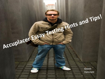 Accuplacer Testing Hints and Tips