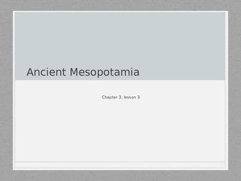 Achievements in Ancient Mesopotamia