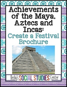 Achievements of the Maya, Aztecs and Incas (Mesoamerica):
