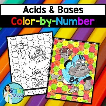 Acids & Bases Color-By-Number