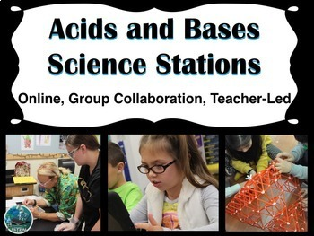 Acids and Bases Science Stations (online, group collaborat