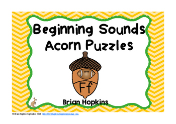 Acorn Beginning Sounds Puzzles