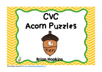Acorn CVC Puzzles