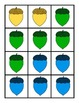 Acorn Color Matching: Centers, Games, Printables, and Emer