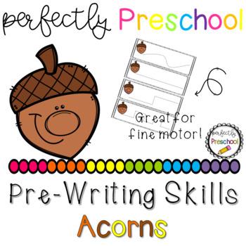 Acorn Faces Prewriting Skills {Dollar Deal}
