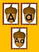 Acorn Alphabet Letter Posters / Word Wall Letter Labels