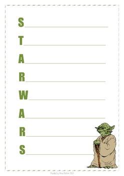 Acrostic Poem - Yoda (Star Wars)