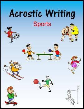 Acrostic Writing:  Sports