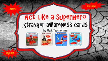 Stranger Danger Task Cards