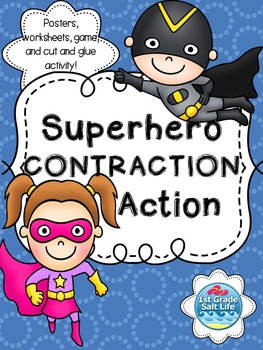 Contractions Activites { Games, Posters, Worksheets }