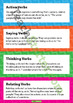 Action, Saying, Thinking and Relating Verb Posters