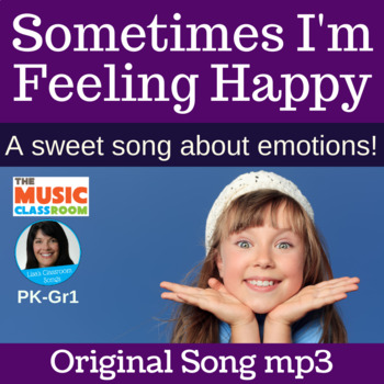"FEELINGS | ""Sometimes I'm Feeling Happy"" Action Song 