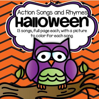 Halloween Songs and Rhymes