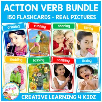 Action Verb Card Bundle
