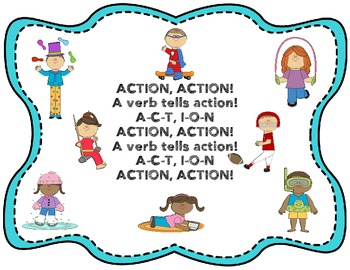 Action Verb Chant