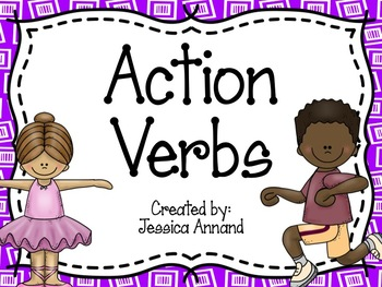 Action Verb PowerPoint and Cut and Sort