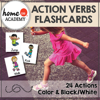 Action Verbs Flashcards