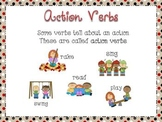 Action Verbs Poster Set Includes VerbsThat Add and Do Not Add -s