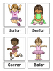 Action words & Commands lesson ~ English & Spanish