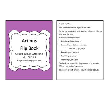 Actions Flip Book